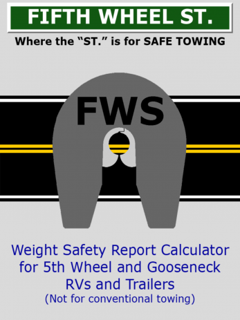 RV Weight Safety Report by Fifth Wheel Street - ipad2