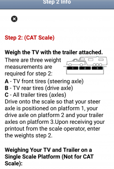 RV Weight Safety Report by Fifth Wheel Street - android_phone5
